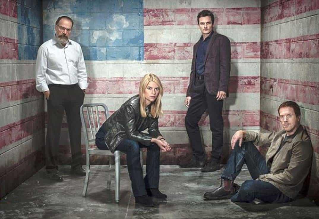 Foto Claire Danes, Damian Lewis, Mandy Patinkin, Rupert Friend © Showtime