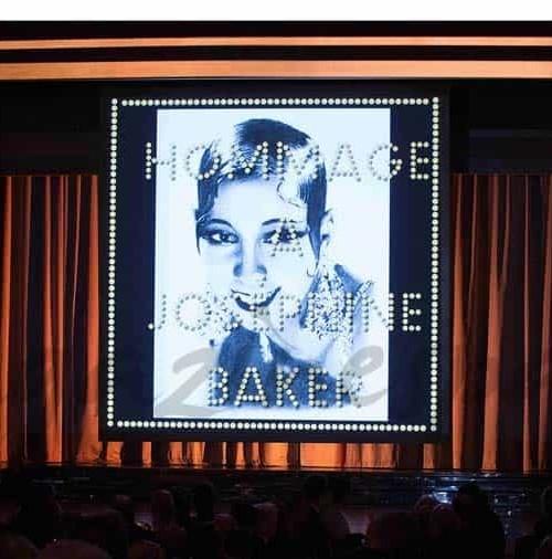 Homenaje a Josephine Baker, en el Baile de la Rosa