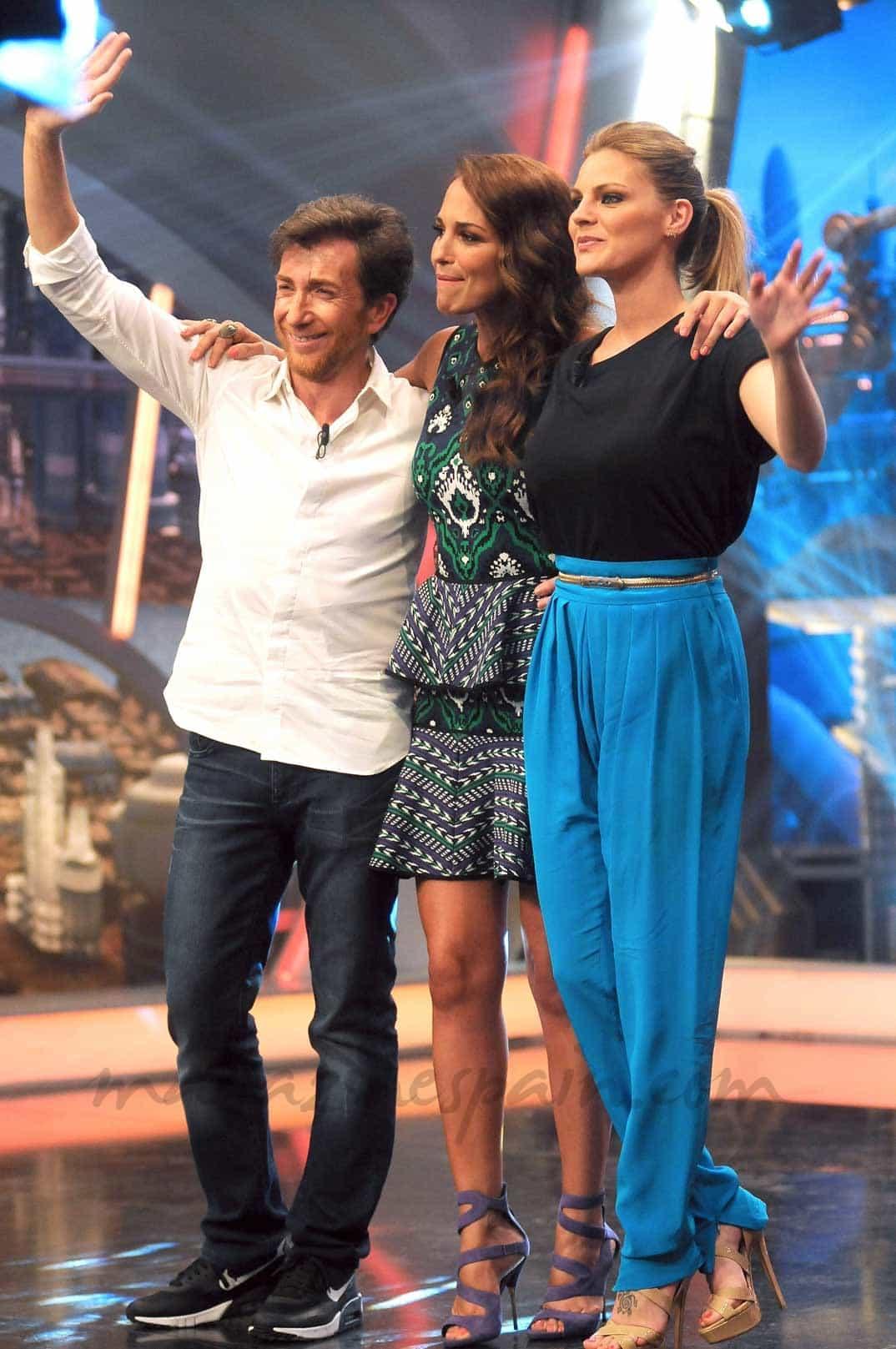 Pablo Motos, Paula Echevarria y Amaia Salamanca
