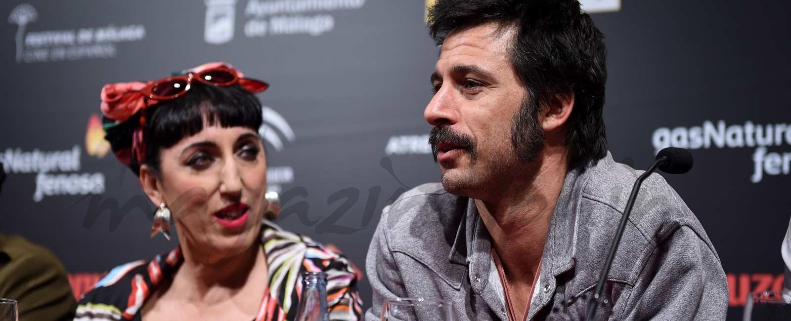 Hugo Silva y Rossy de Palma, la extraña pareja
