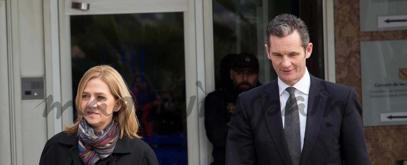 La infanta Cristina absuelta e Iñaki Urdangarín 6 años y 3 meses de cárcel