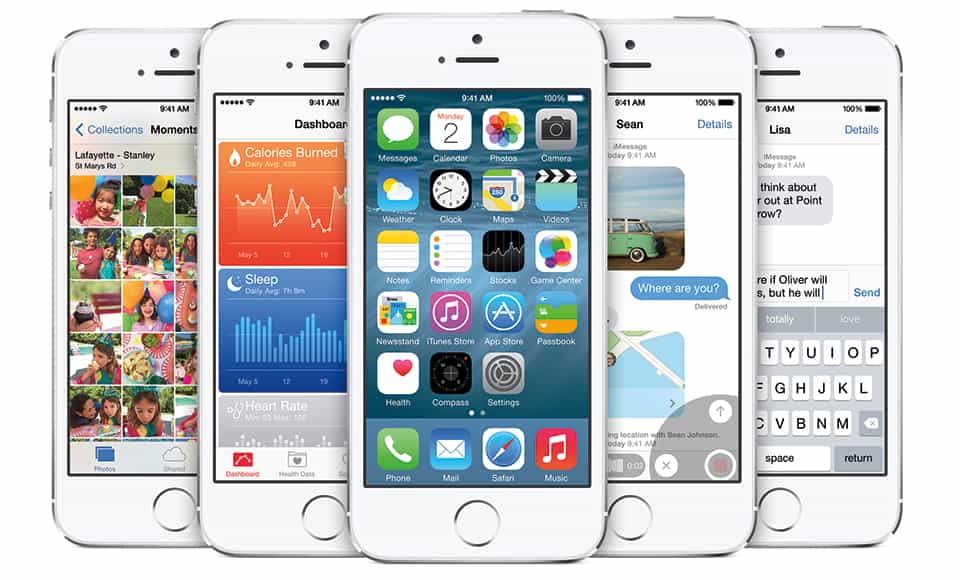 iOS 8 presentado ayer en San Francisco.