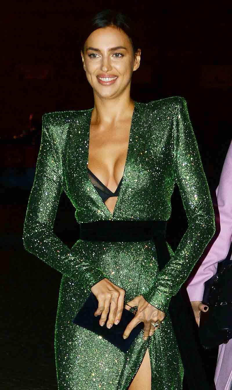 la elegancia de irina shayk