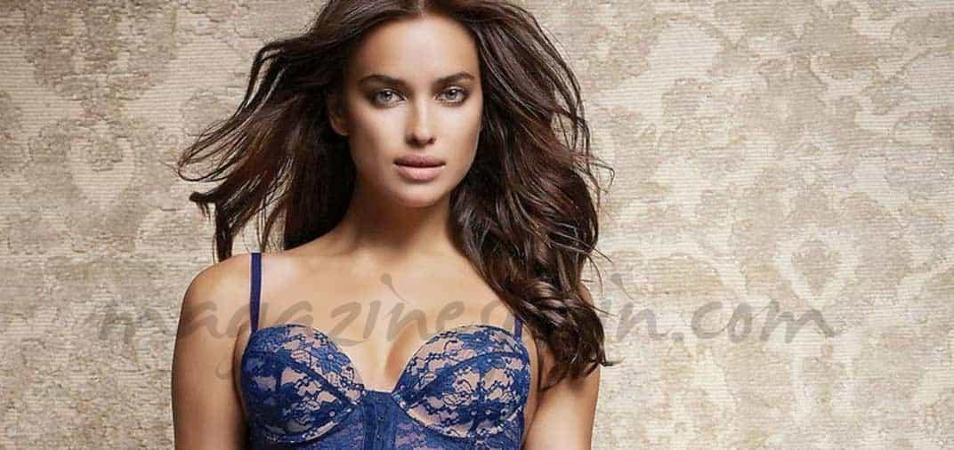 Irina Shayk… lencería otoñal