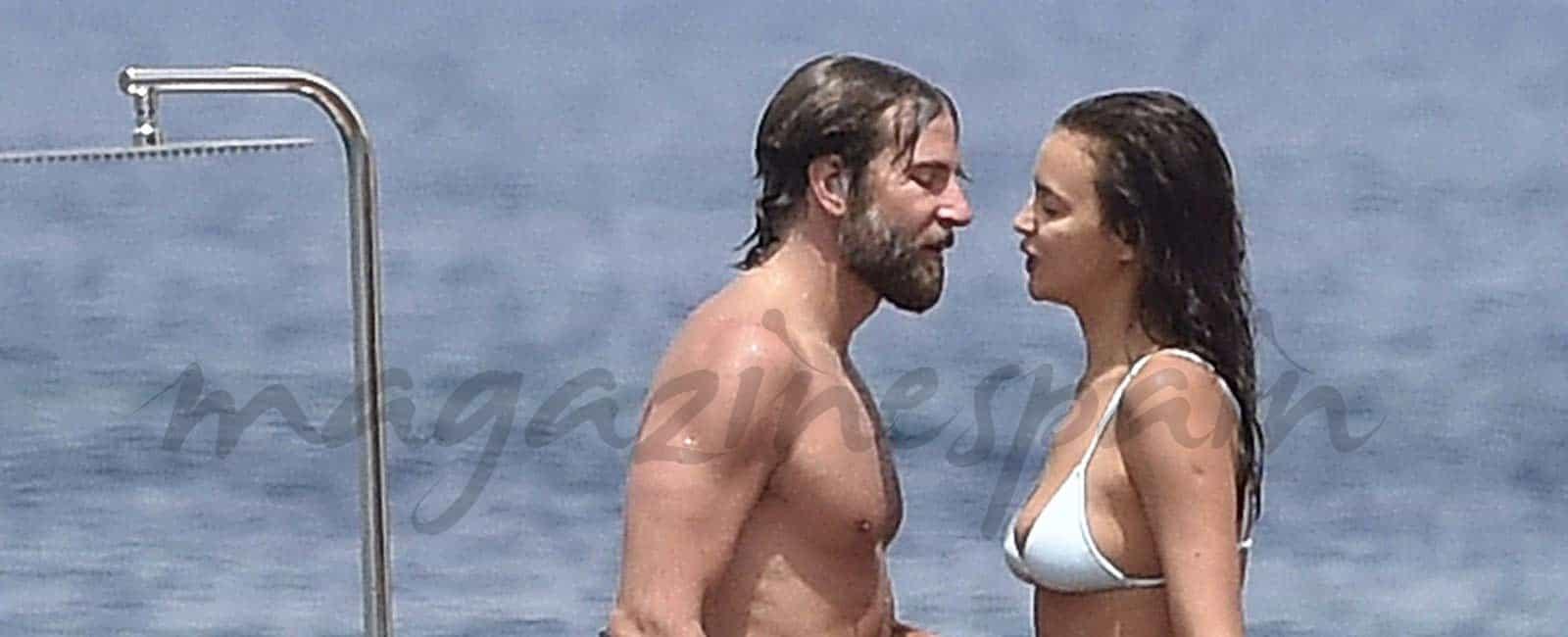 Irina Shayk y Bradley Cooper románticas vacaciones en Italia