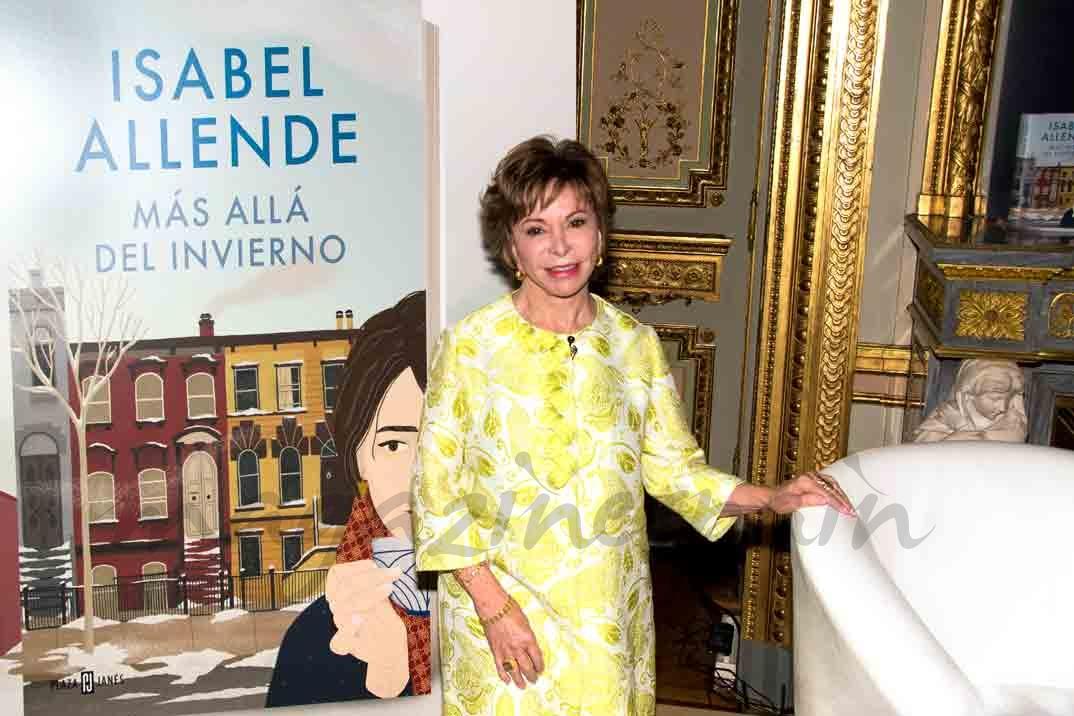 Isabel Allende Presenta En Madrid   U0026quot M U00e1s All U00e1 Del Invierno