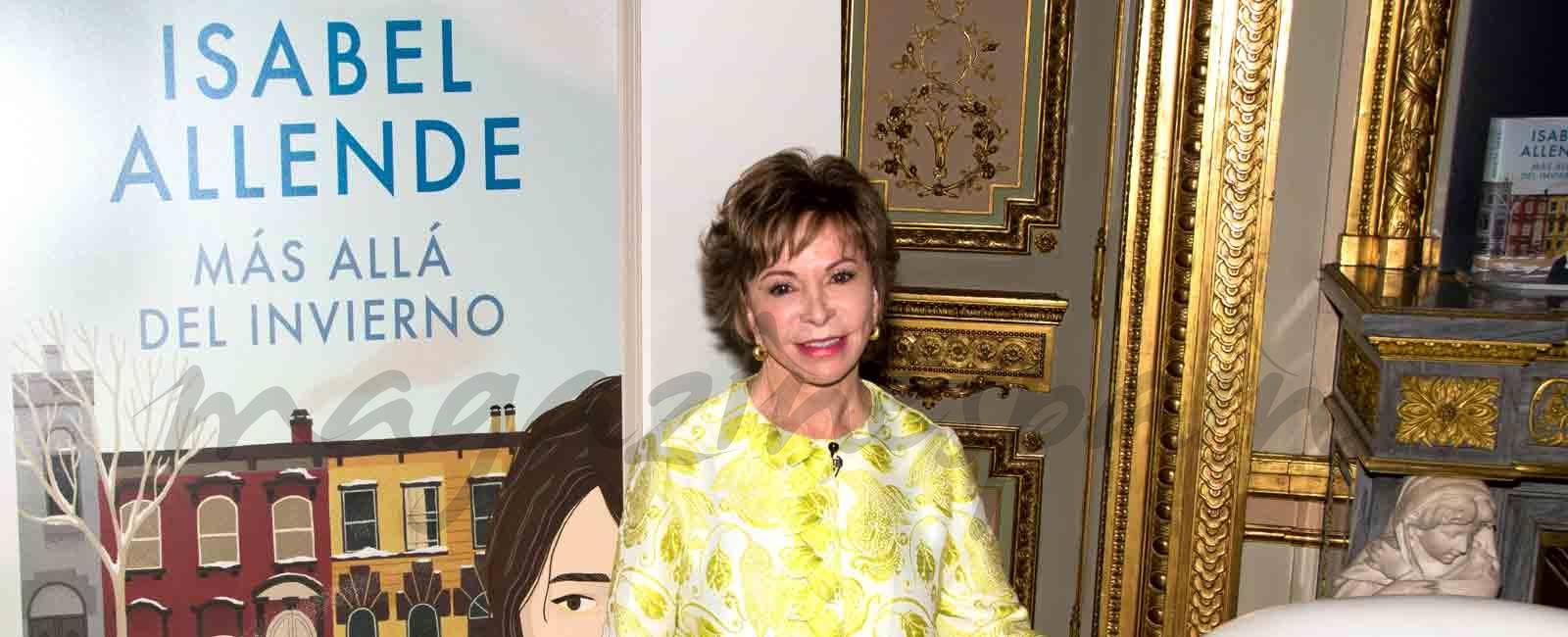 Isabel Allende presenta en Madrid, «Más Allá del invierno»