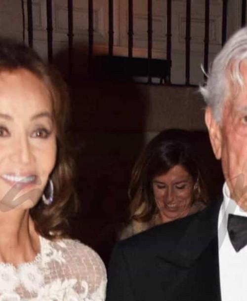Isabel Preysler y Mario Vargas Llosa boda en 2017