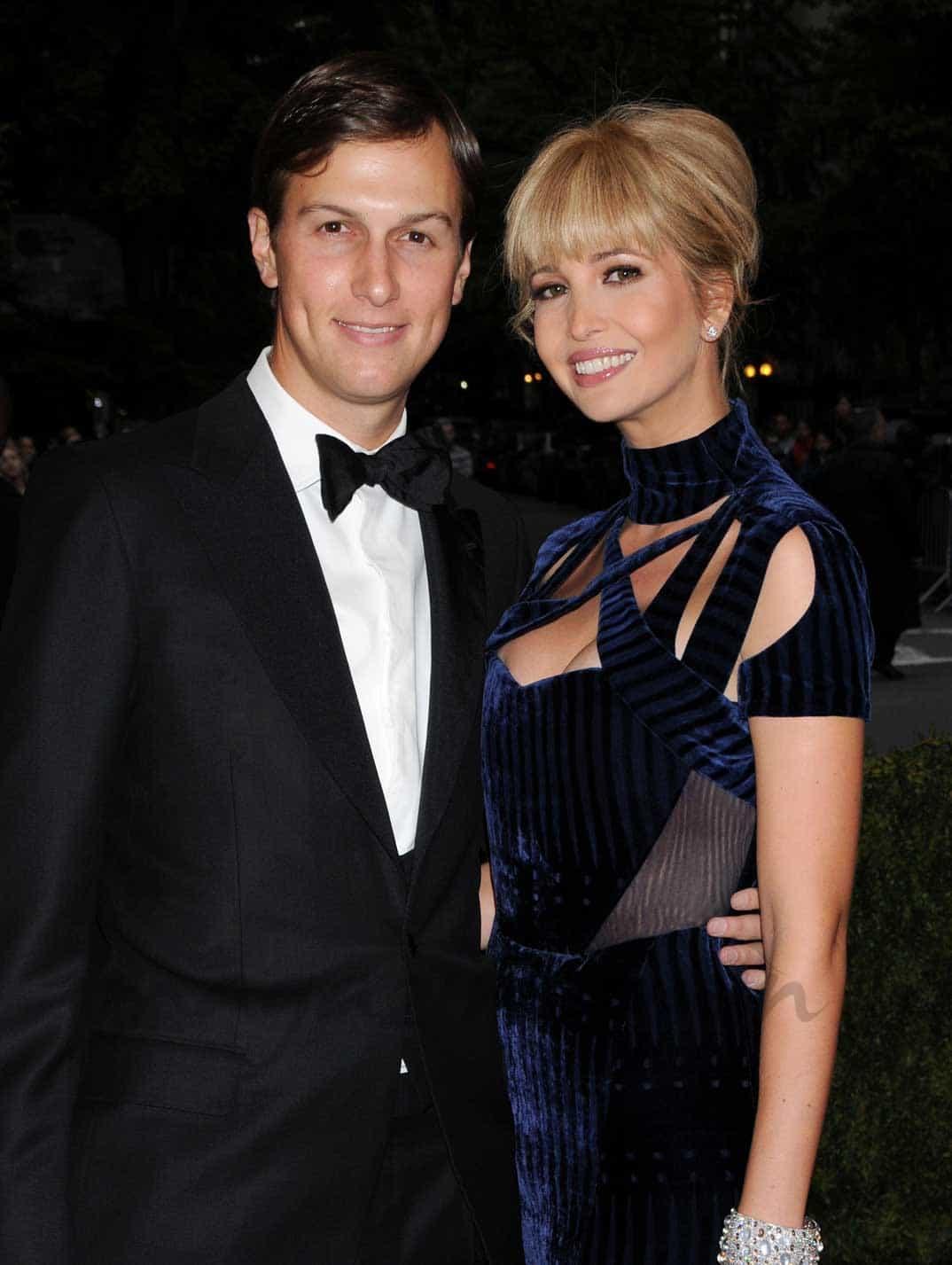 Ivanka Trump y su marido Jared Kushner