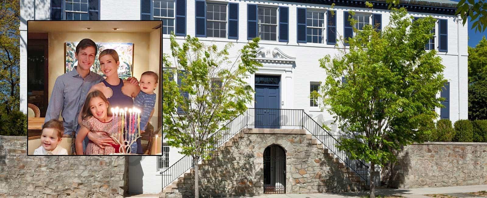 La nueva casa de Ivanka Trump, hija del nuevo Presidente Donald Trump, en Washington