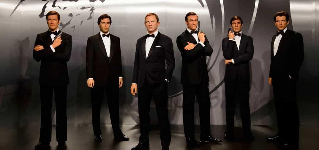 Todos los agentes 007, juntos