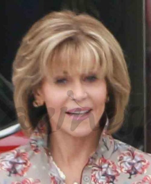 Jane Fonda espléndida a punto de cumplir 80 años