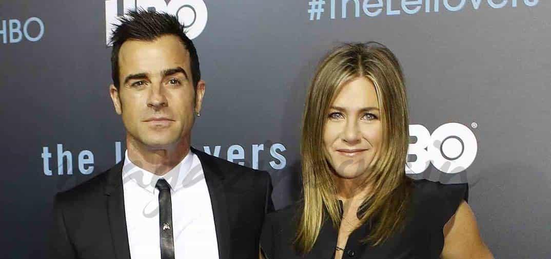 Jennifer Aniston primera aparición como esposa de Justin Theroux