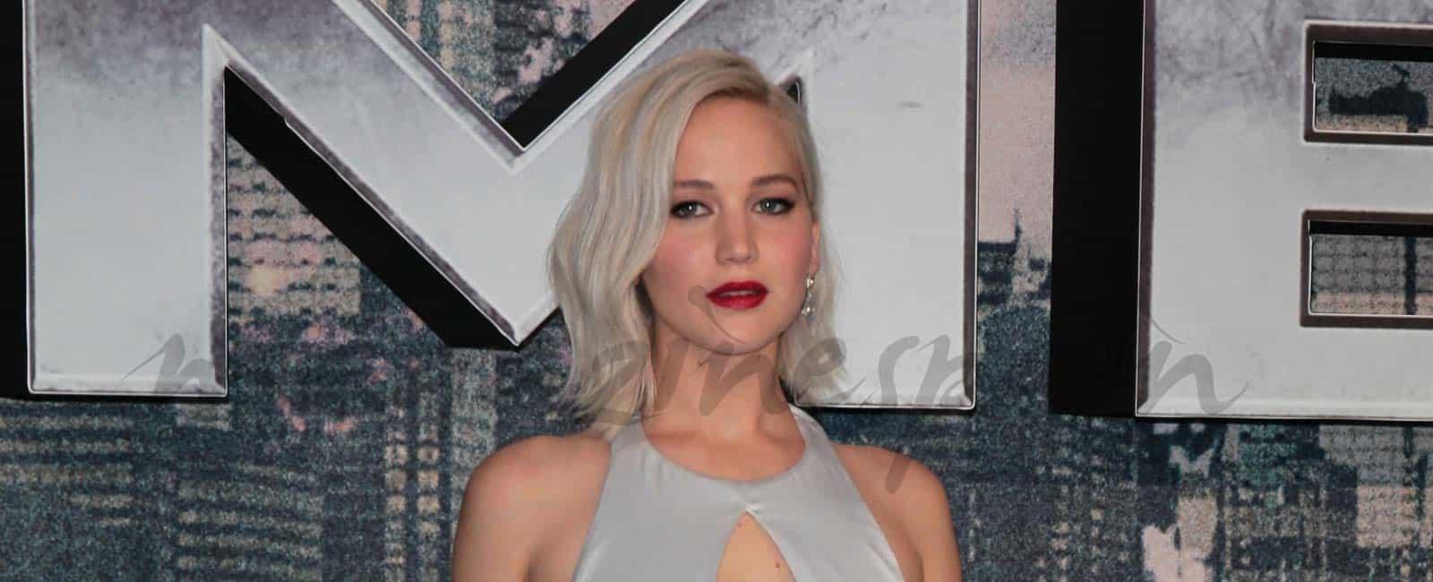 Jennifer Lawrence presume de escote