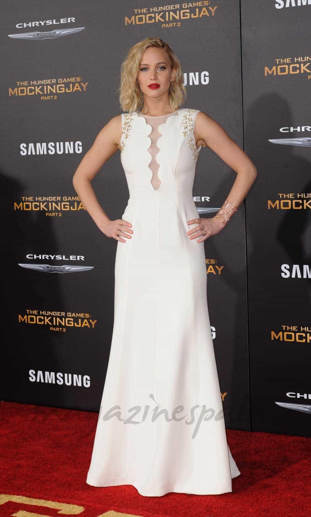 Jennifer Lawerence Sinsajo 2, estreno Los Ángeles