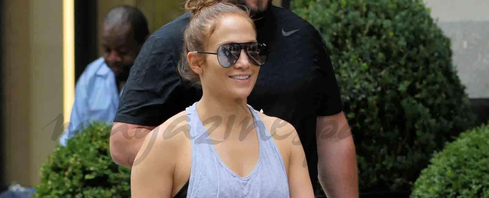 Jennifer López se pone en forma