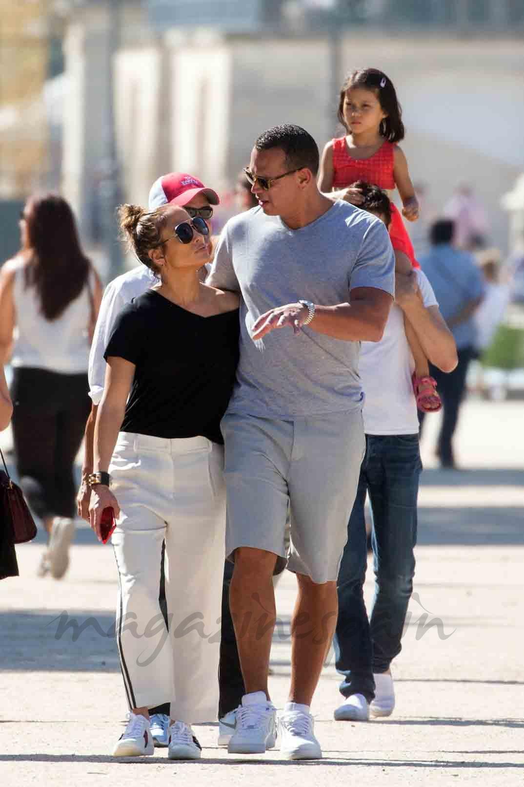 Jennifer Lopez Y Alex Rodriguez Amor En Paris