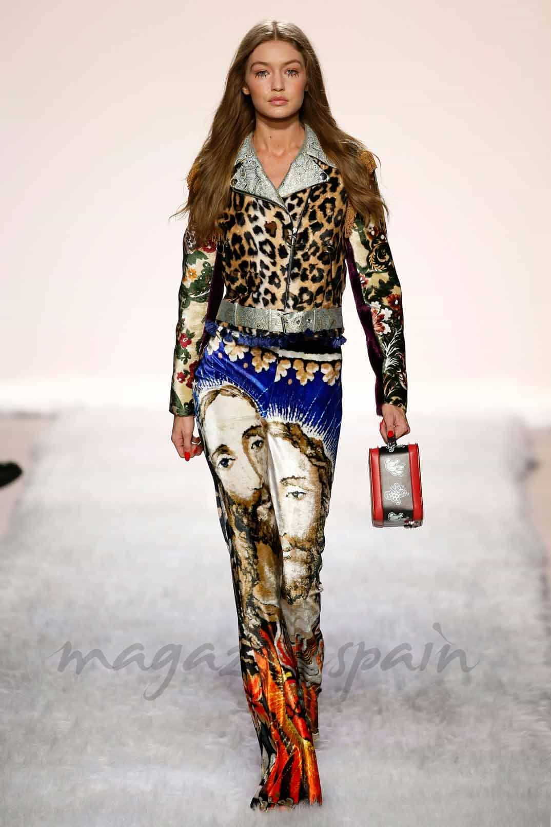 gigi hadid New York Fashion Week otono invierno 2017 jeremy scott