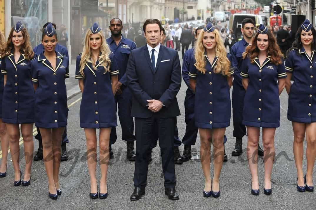 John Travolta, un piloto de lujo