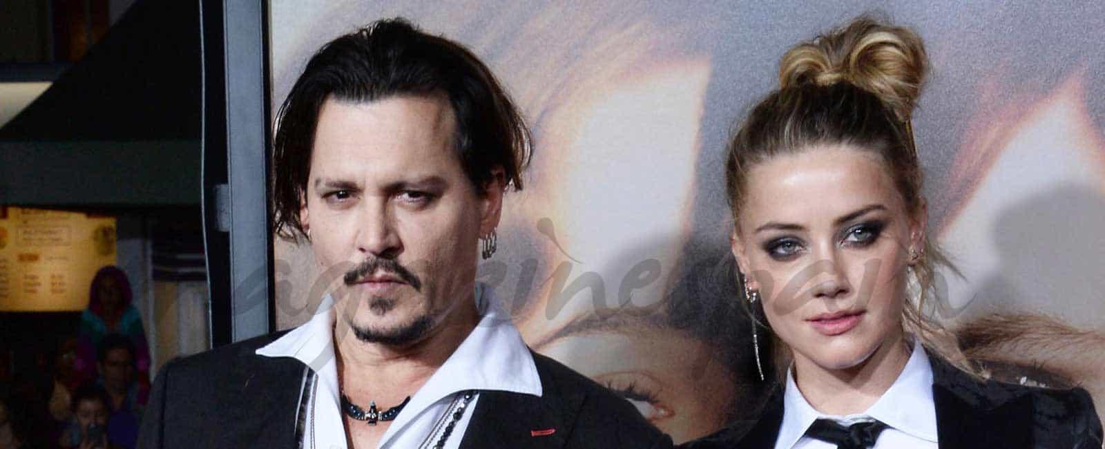 """Johnny Depp y Amber Heard divorcio """"amistoso"""""""