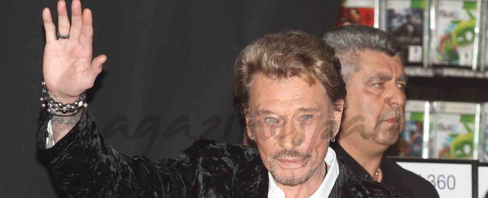 Johnny Hallyday fallece a los 74 años victima de un cáncer de pulmón