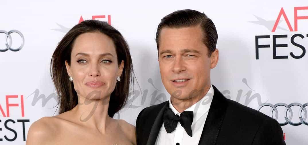 Lo aseguran en Estados Unidos, Brad Pitt y Angelina Jolie se divorcian