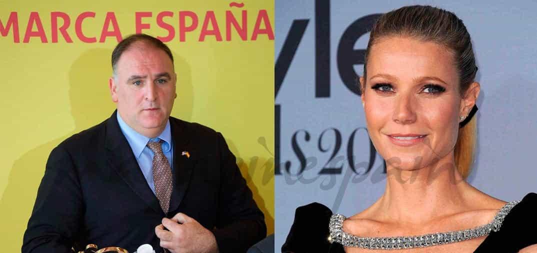 El Chef español, José Andrés. se asocia con Gwyneth Paltrow