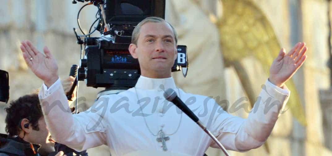 """Jude Law es """"El joven Papa"""""""