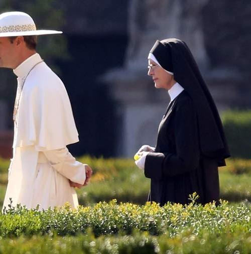 Jude Law y Diane Keaton juntos en El Vaticano