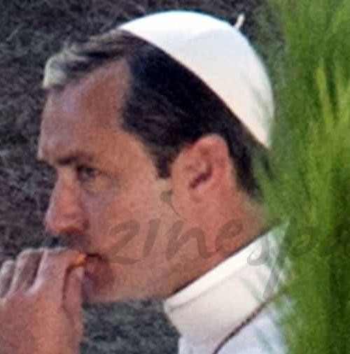 Jude Law, será el Pontifice Pío XIII