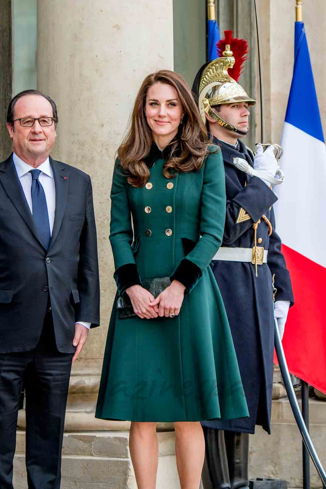 kate middleton y hollande