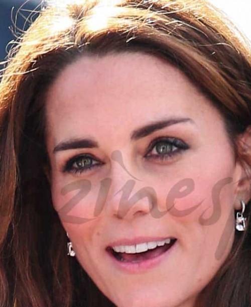 Kate Middleton se viste de flores