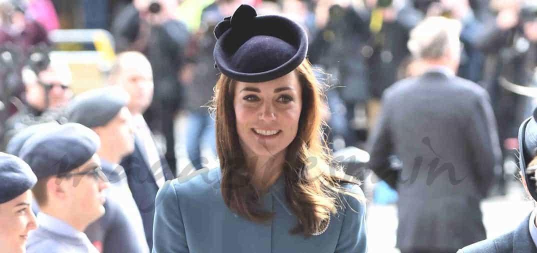 Kate Middleton dice que el príncipe George quiere ser cadete