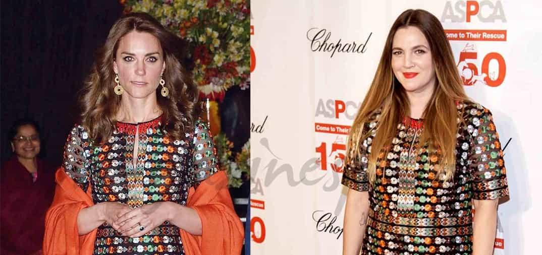 ¿Qué tienen en común Kate Middleton y Drew Barrymore?