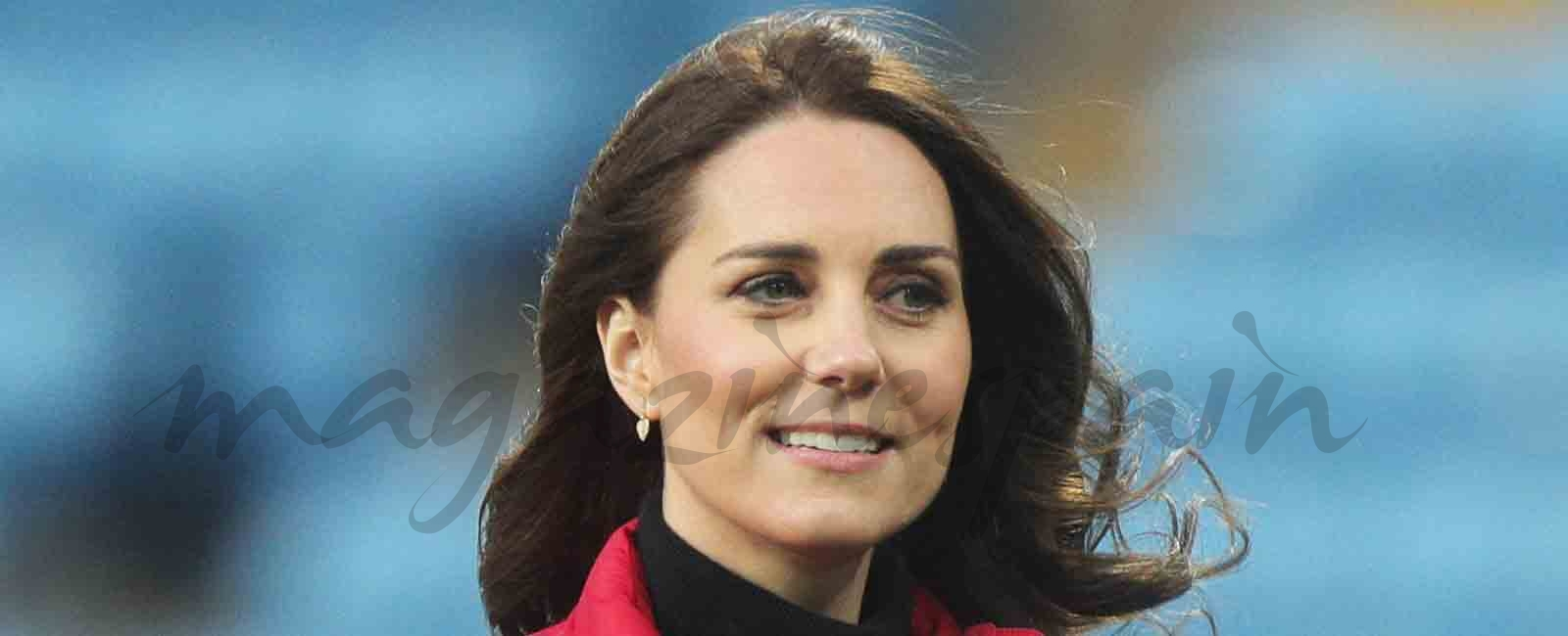 "Kate Middleton ya luce ""barriguita"""