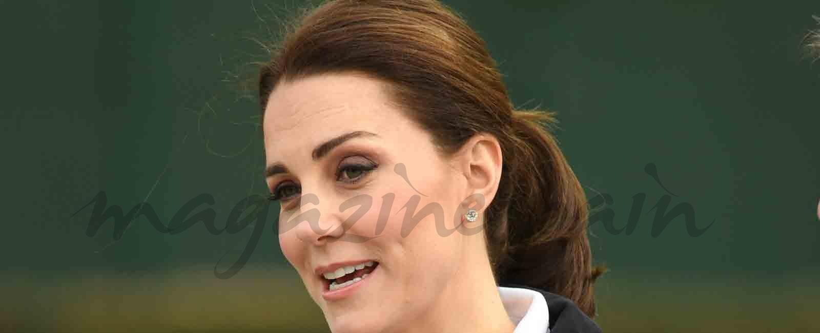 Kate Middleton recuperada de sus problemas con su embarazo