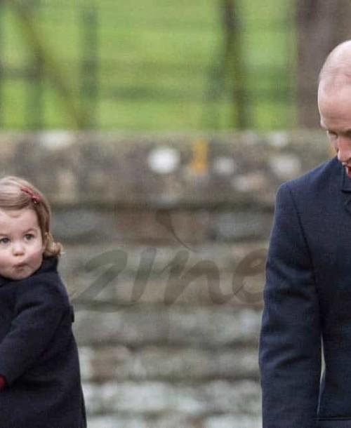 Los Duques de Cambridge y sus hijos, en la tradicional misa de Navidad