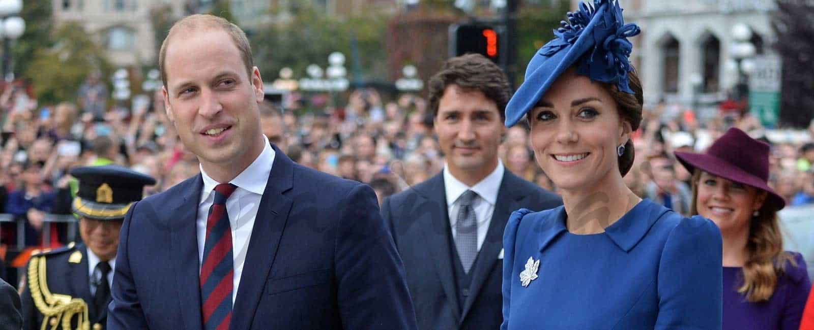Los duques de Cambridge, viaje oficial con sus hijos a Canadá