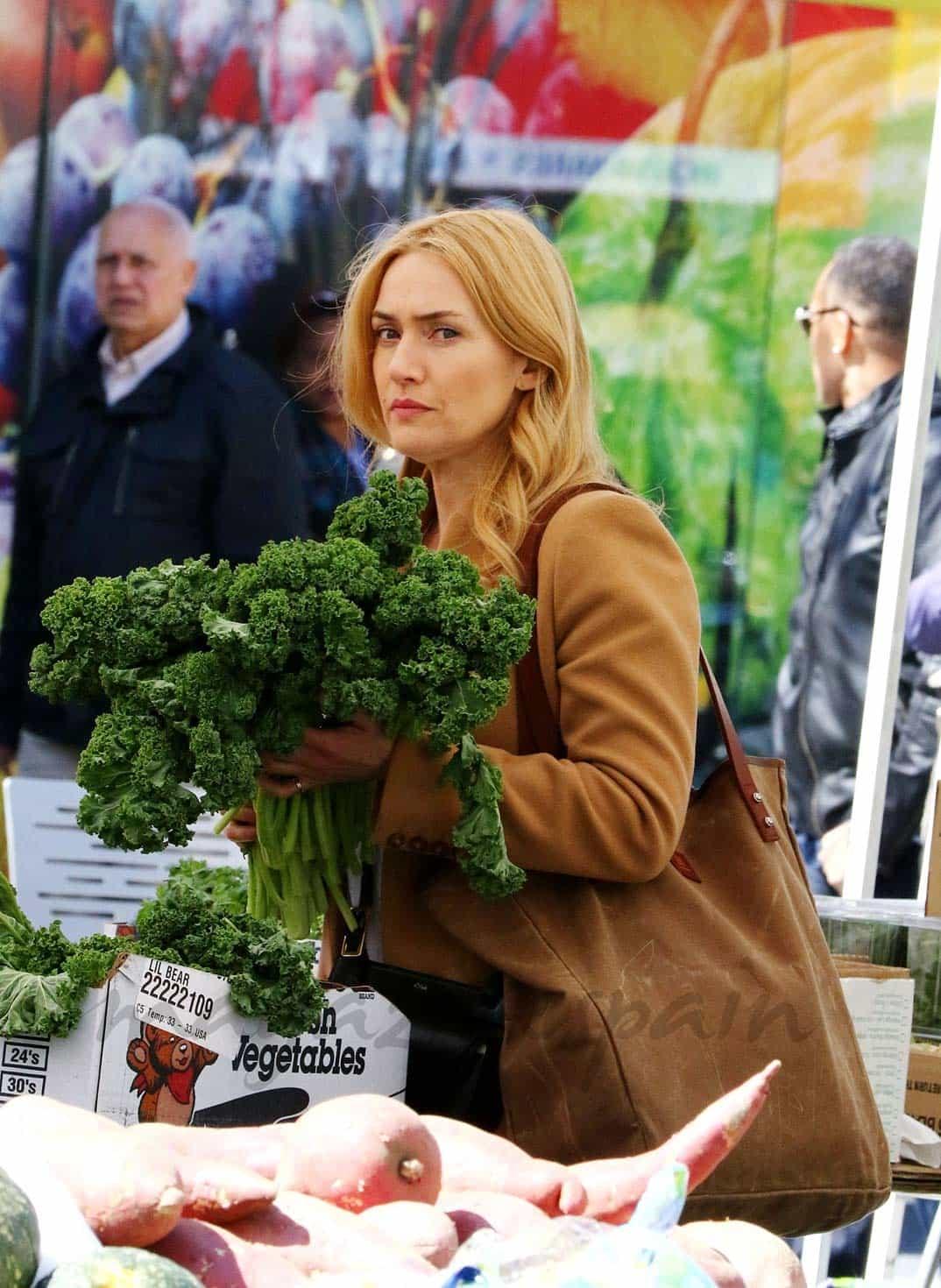 kate winslet comprando kale