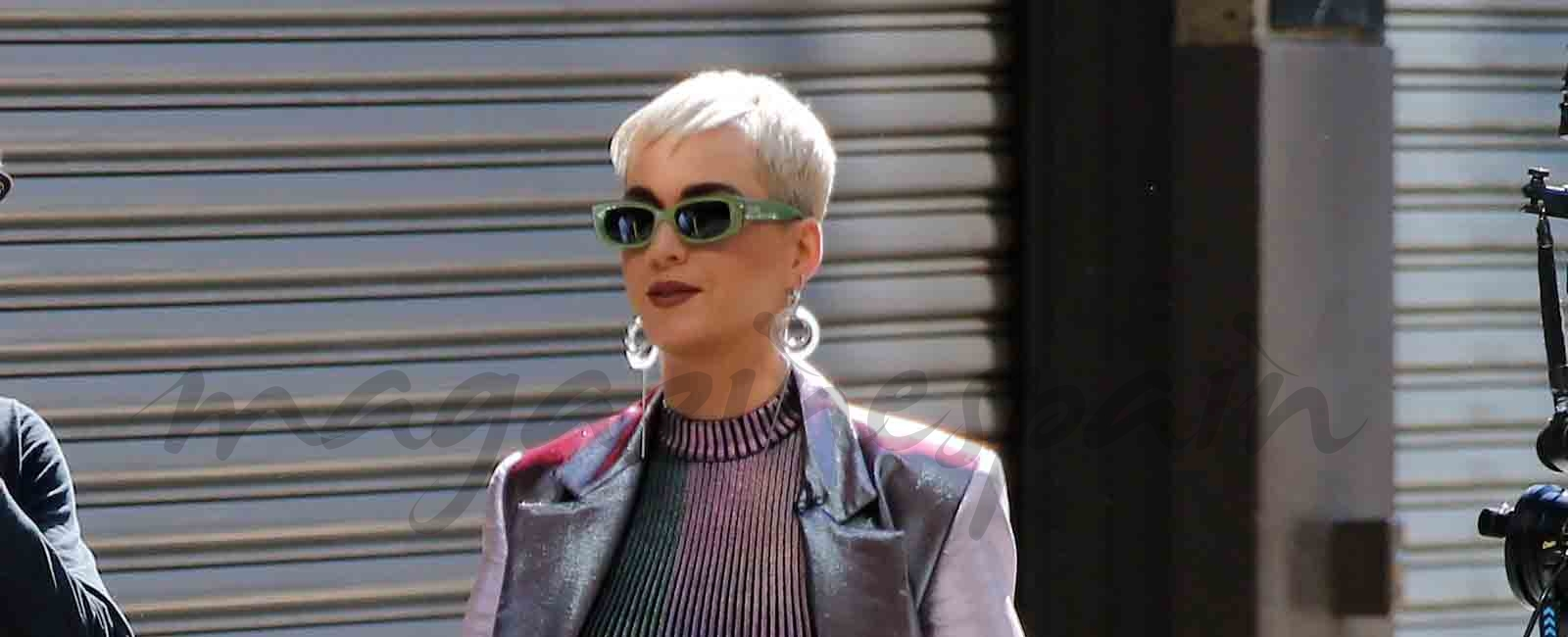 El look futurista de Katy Perry