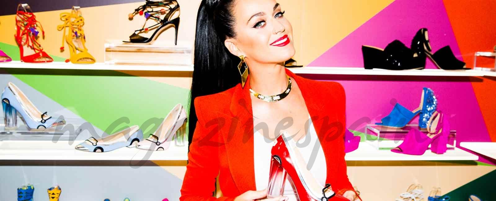 A los pies de Katy Perry