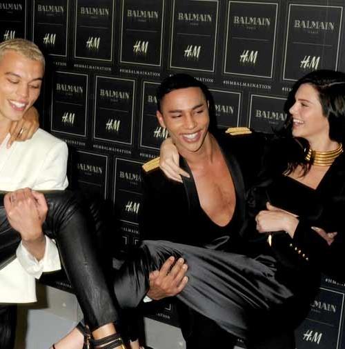 Balmain presenta su colección para H&M