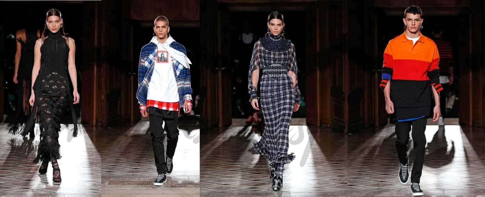 Givenchy y sus musas conquistan Paris Men Fashion Week