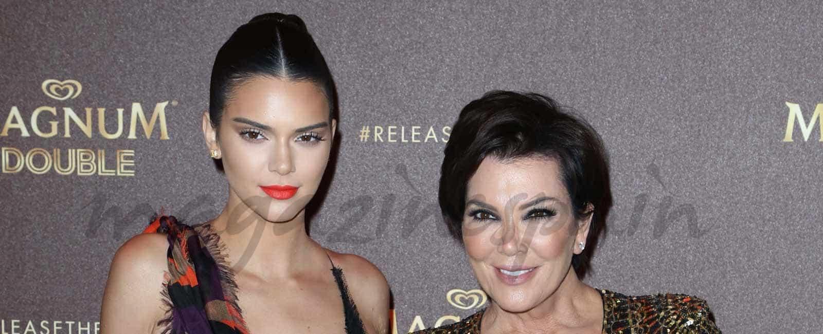 Kendall Jenner y su madre, juntas en Cannes