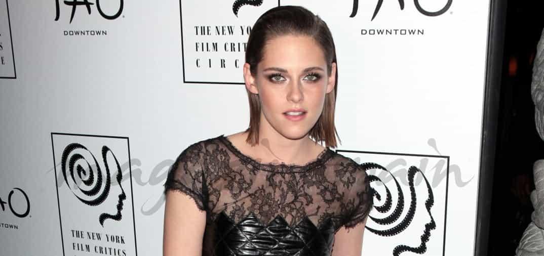 Kristen Stewart premiada por la crítica