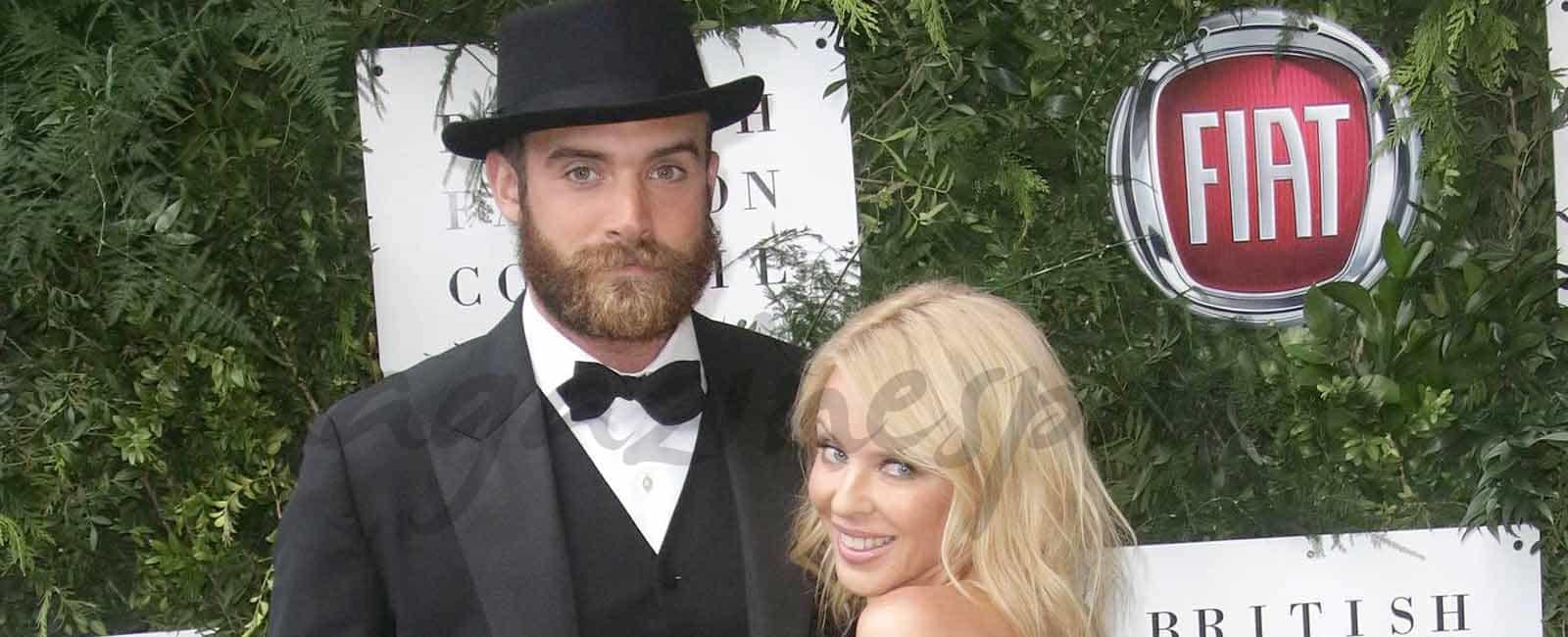 Kylie Minogue y Joshua Sasse, reaparecen tras rumores de boda
