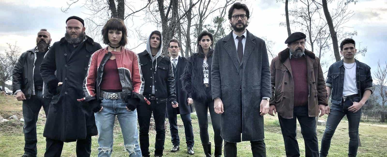 Comienza el rodaje de «La Casa de Papel», la nueva serie de Antena 3