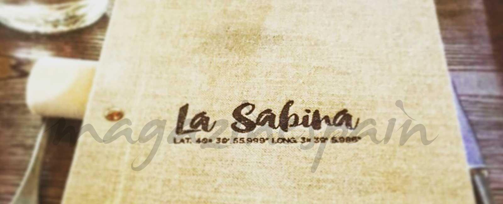 La Sabina: Larrumba nos transporta al Mediterráneo