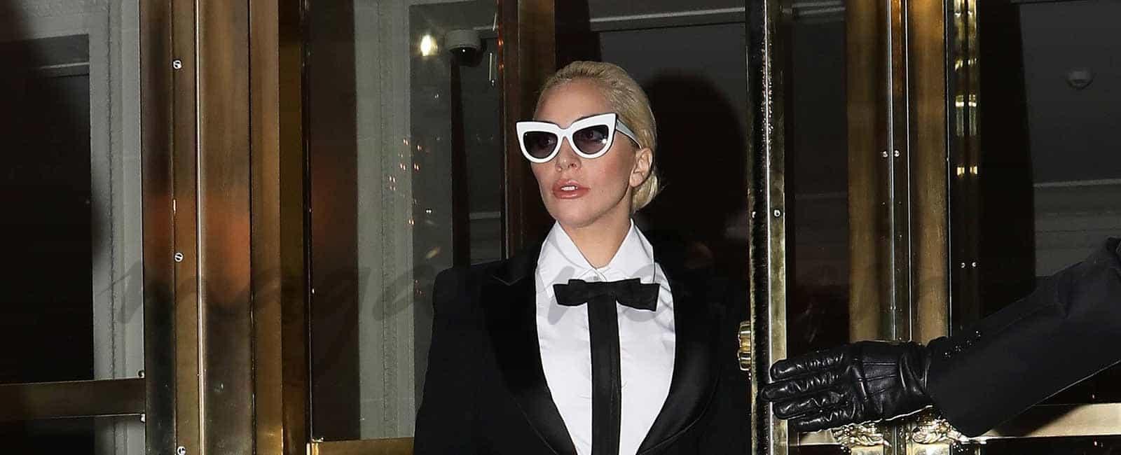 Lady Gaga… estilo chic en París