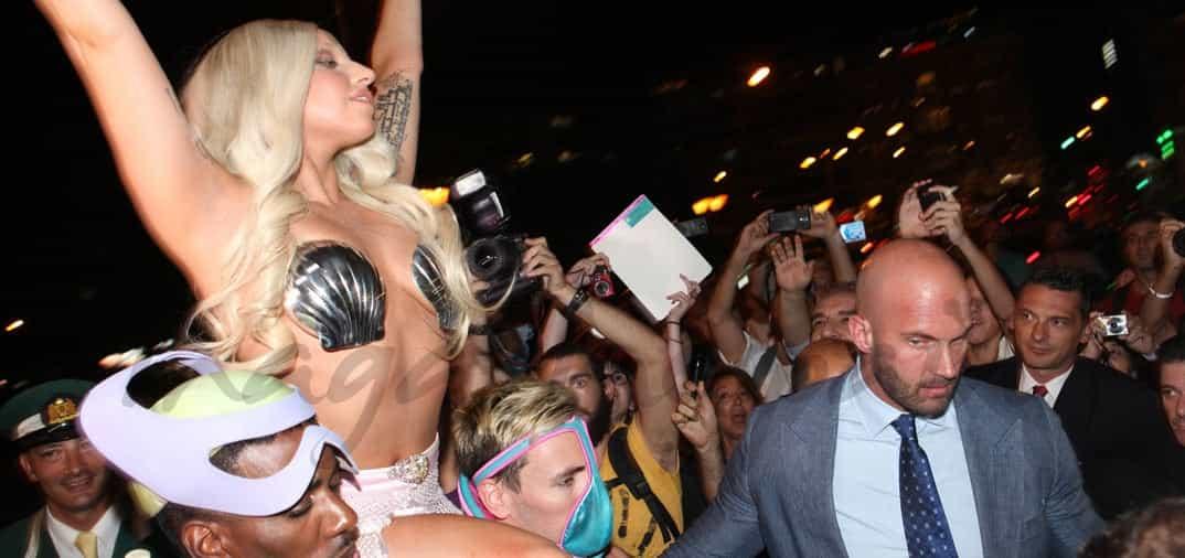 La «diosa» Lady Gaga llega a Atenas